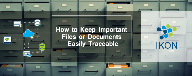 Keep Documents Easily Traceable